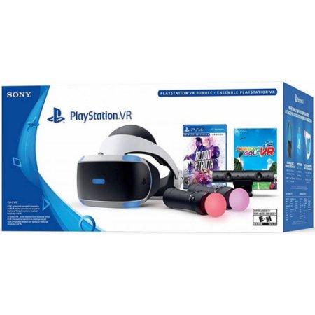 PS4 - Playstation VR - Blood and Truth and Everybody Golf VR Bundle