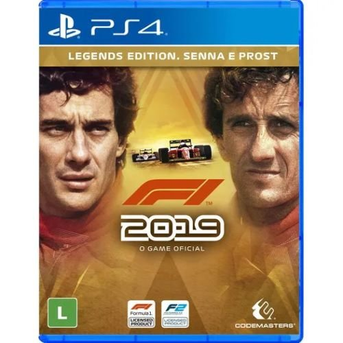 PS4 - F-1 2019 Legends Edition