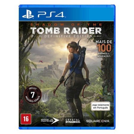 PS4 - Shadow of the Tomb Raider - A Definitive Edition