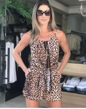 REGATA DENISE VICSCOSE ANIMALPRINT