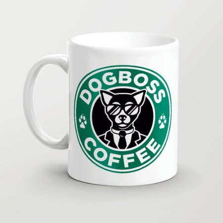 Caneca Dogboss coffee
