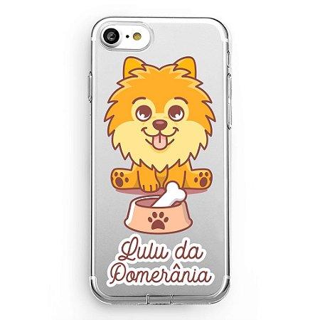 Capa transparente Lulu da Pomerânia