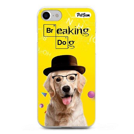 Capinha Breaking Dog/Cat - modelo Apple