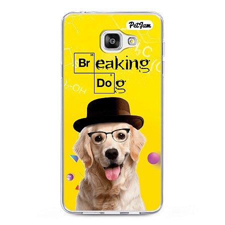 Capinha Breaking Dog/Cat - modelo Samsung