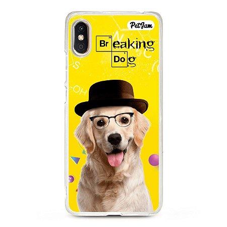 Capinha Breaking Dog/Cat - modelo Xiaomi