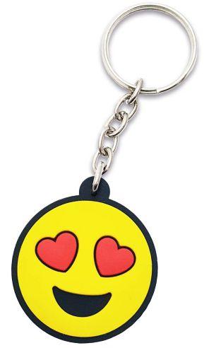 Chaveiro - Emoji apaixonado