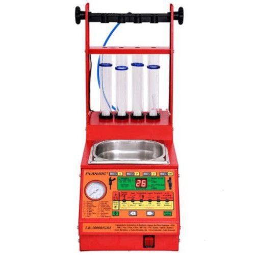 LB-30000/GDI Teste e Limpeza Ultrassônica de Bicos Injetores GDI e Padrão com Abertura da Pinça de Freio