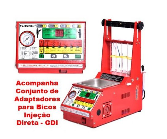 Maquina Limpeza Bicos Injetores Padrão/GDI LB-25000/GDI-CP