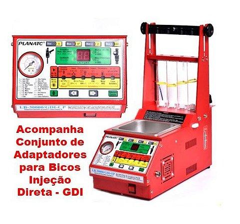 Maquina Limpeza Bicos Injetores Padrão/GDI LB-30000/GDI-CP