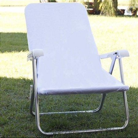 Toalha para Cadeira de Praia Comphy Branca