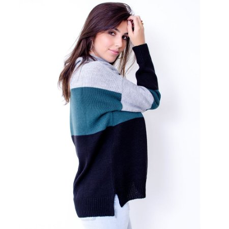 Blusa Maxi Tricot Comphy 3 Colors