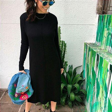 Vestido Tricot Black Comphy