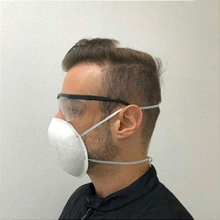 Máscara AUTOCLAVAVEL tipo Concha Tripla - 10 un
