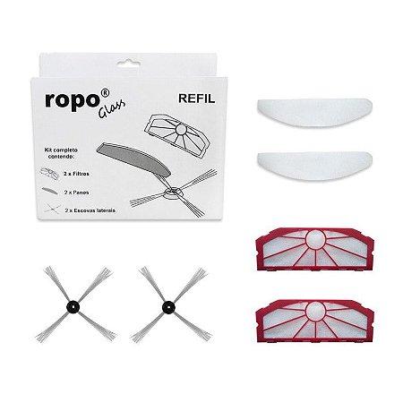 Kit Refil De Reposição Para Ropo Glass