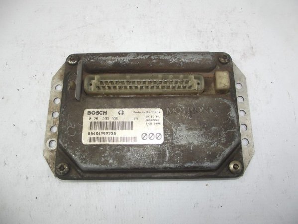 Modulo Injeção Eletronica Fiat Tipo 1.6 cod 00464292730 Lt2