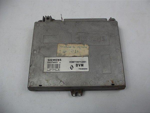 Modulo Injeção Eletronica Renault 19 1.8 Cod. S101714101 Lt2