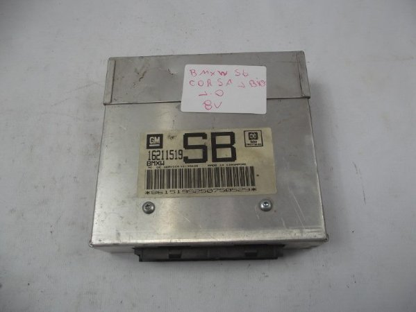 Modulo Injeção Eletronica Corsa cod. 16211519