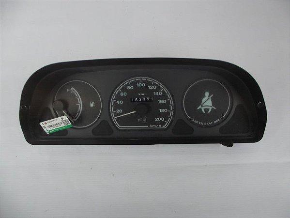 Painel De Instrumentos Fiat Palio Young 2000 Fundo Preto Lt4
