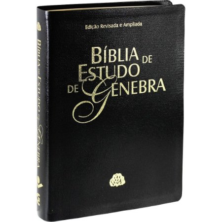 BÍBLIA DE ESTUDO DE GENEBRA -- PRETA