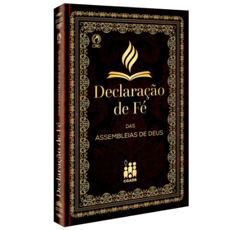 DECLARAÇÃO DE FÉ DAS ASSEMBLÉIAS DE DEUS (BROCHURA)