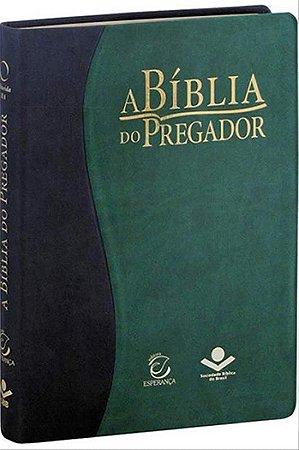 A BÍBLIA DO PREGADOR - VERDE E PRETO