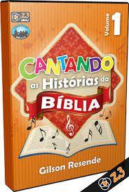 CD CANTANDO AS HISTÓRIAS DA BÍBLIA VOL. 1