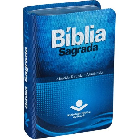 BÍBLIA ARA BOLSO JOVEM AZUL