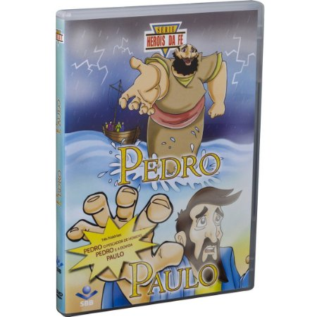 DVD HERÓIS DA FÉ - PEDRO