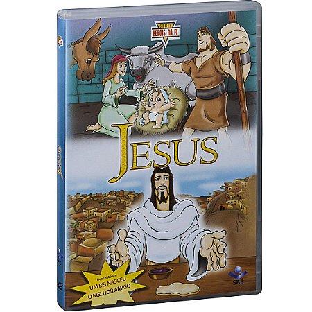 DVD HERÓIS DA FÉ - JESUS
