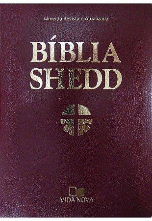 BÍBLIA SHEDD COVERTEX - MARROM