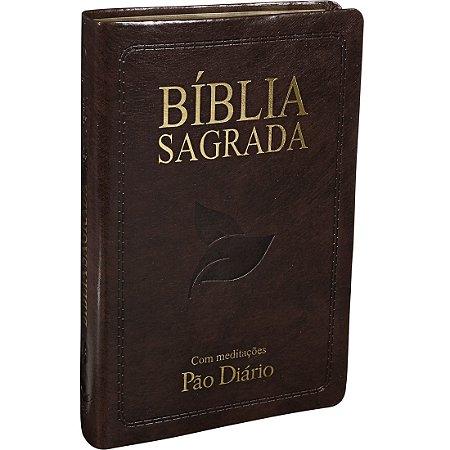 BÍBLIA RC MARROM NOBRE - LETRA GIGANTE