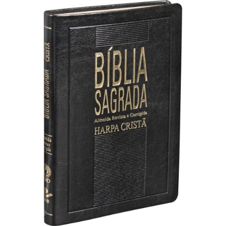 BÍBLIA RC HARPA SLIM - PRETA