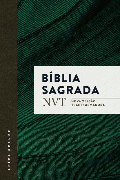 BÍBLIA NVT VERDE LETRA GRANDE BROCHURA