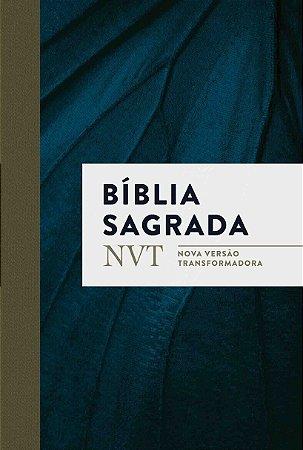 BÍBLIA NVT AZUL MARINHO BROCHURA