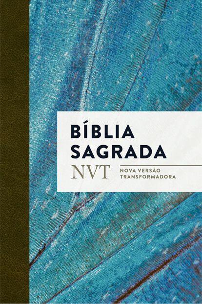 BÍBLIA NVT AZUL CLARO LETRA NORMAL BROCHURA