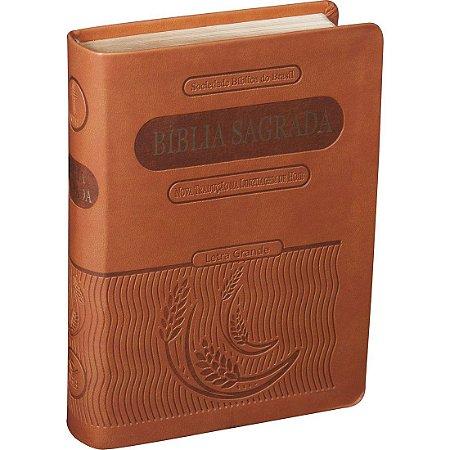 BÍBLIA NTLH GRANDE - MARROM