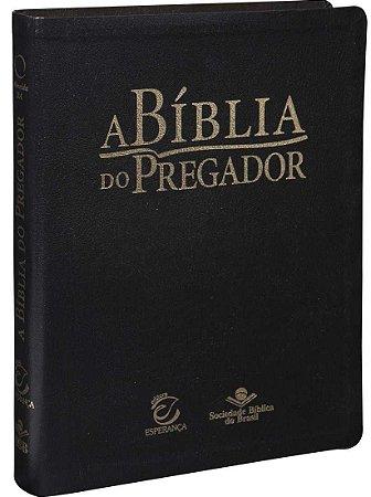 BÍBLIA DO PREGADOR MÉDIA - PRETA