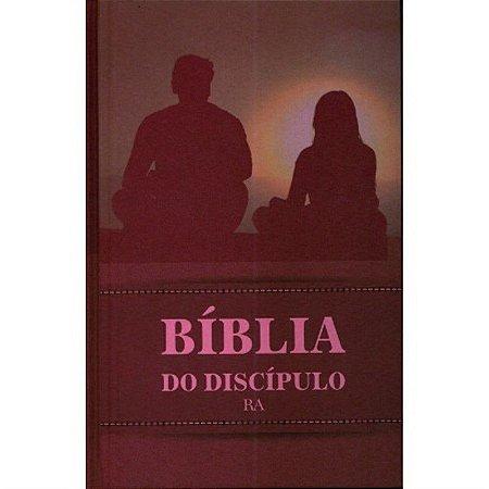 BÍBLIA DO DISCÍPULO CAPA DURA - VINHO