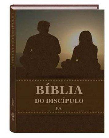 BÍBLIA DO DISCÍPULO CAPA DURA - MARROM