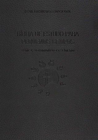 BÍBLIA DE ESTUDO PARA PEQUENOS GRUPOS - PRETA