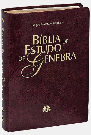 BÍBLIA DE ESTUDO DE GENEBRA - VINHO