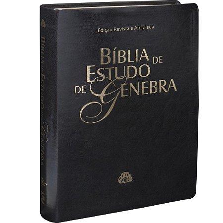 BÍBLIA DE ESTUDO GENEBRA PRETA
