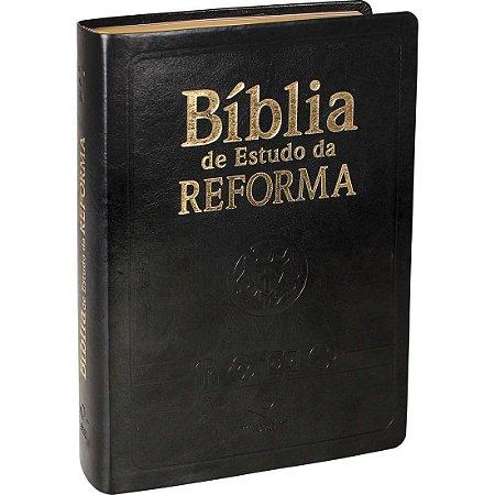 BÍBLIA DE ESTUDO DA REFORMA - PRETA
