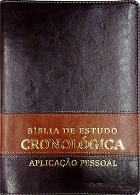 BÍBLIA DE ESTUDO CRONOLÓGICA APLICAÇÃO PESSOAL