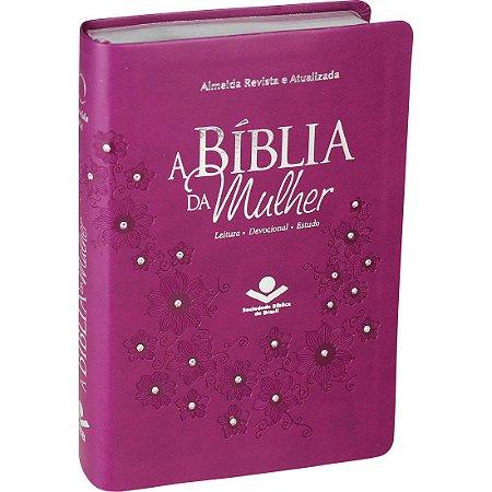 BÍBLIA DA MULHER VINHO MÉDIA