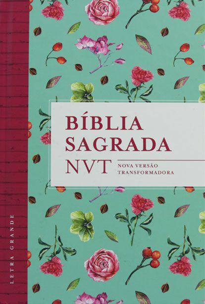 BÍBLIA NVT FLORES TIFFANY CAPA DURA