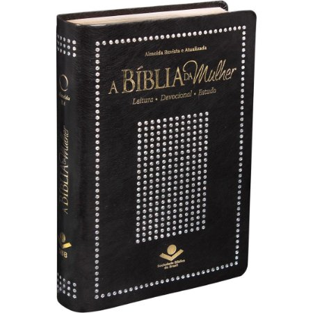 BÍBLIA DA MULHER RC - PRETA NOBRE