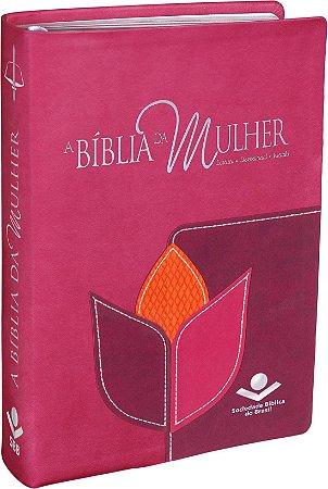 BÍBLIA DA MULHER RC - GRANDE FLOR