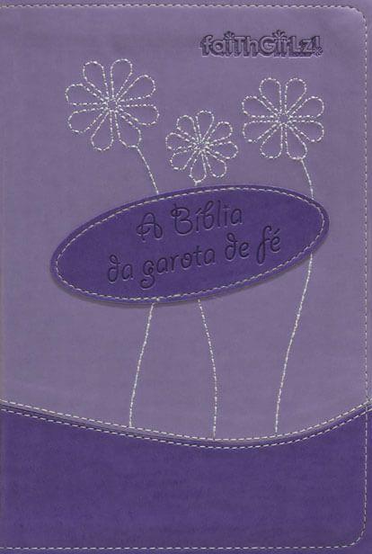 BÍBLIA DA GAROTA DE FÉ-LILÁS