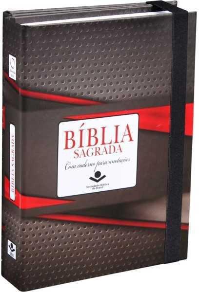 BÍBLIA RA C/ CADERNO DE ANOTAÇÕES PRETA